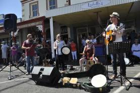 Folk Band at Port Fairy